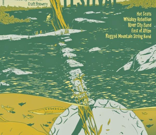 Blue Grass Festival Poster